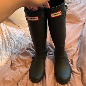 Size 7 Hunter Rain Boots